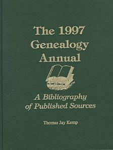 The 1997 Genealogy Annual PDF