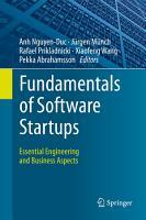 Fundamentals of Software Startups PDF