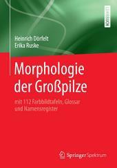 Morphologie der Großpilze: mit 112 Farbbildtafeln, Glossar und Namensregister