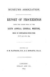 Report of Proceedings: With the Papers Read at the ... Annual General Meeting