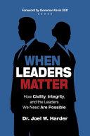 When Leaders Matter
