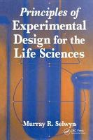 Principles of Experimental Design for the Life Sciences PDF