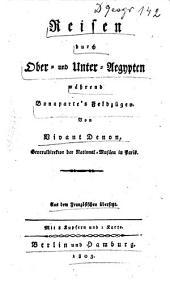 Reisen durch Ober- und Unter-Egypten während Bonaparte's Feldzügen