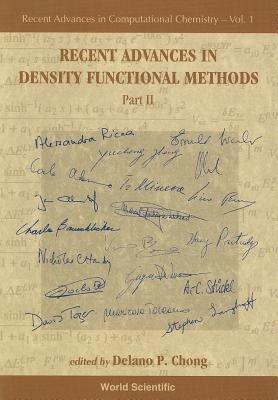 Recent Advances in Density Functional Methods