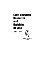 Latin American Resources and Activities at UCLA  PDF