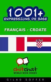1001+ Expressions de Base Français - Croate