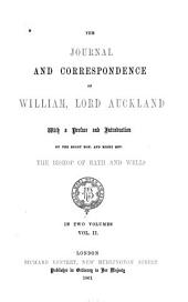 The Journal and Correspondence of William, Lord Auckland: Volume 2