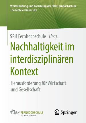 Nachhaltigkeit im interdisziplin  ren Kontext PDF