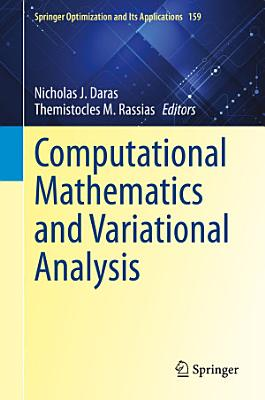 Computational Mathematics and Variational Analysis PDF