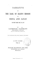 Narrative of the Earl of Elgin s Mission to China and Japan in the Years 1857   58   59 PDF