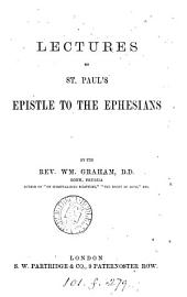 Lectures on st. Paul's Epistle to the Ephesians