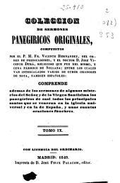 Colección de sermones panegíricos originales: (1849. 352, 8 p.)