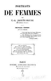 Portraits de femmes: Mmes de Sévigné, de La Fayette, de Staël et Mme Roland, Volume2