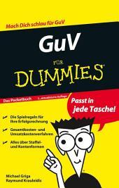 GuV für Dummies: Ausgabe 2