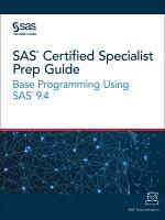 SAS Certified Specialist Prep Guide PDF