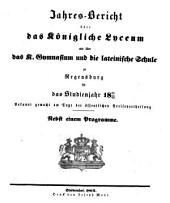 Jahres-Bericht: 1861/62 (1862)