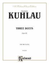 Three Duets, Op. 80: Flute Duets