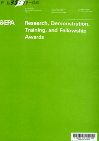 Research  Demonstration  Training  and Fellowship Awards  Apr  September FY 1979