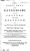 The First Sett of Catechisms and Prayers PDF