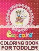 Cupcake Coloring Book For Toddler