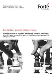 Eyes Wide Open - Competitor Intelligence Practices
