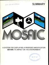 MOSAIC: a system for displaying a proposed modification before its impact on the environment : summary