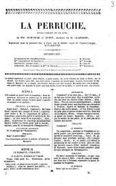 La perruche opéra-comique en un acte de MM Philippe Dumanoir et Dupin