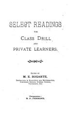 Select Readings for Class Drill and Private Learners PDF