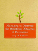Managing to Optimize the Beneficial Outcomes of Recreation PDF