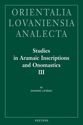 Studies in Aramaic Inscriptions and Onomastics