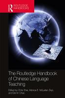 The Routledge Handbook of Chinese Language Teaching PDF