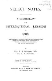 Select Notes: A Commentary on the International Lessons, Volume 12