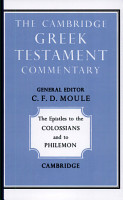 The Epistles to the Colossians and to Philemon PDF