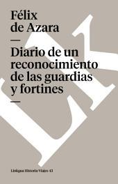 Diario de un reconocimiento de las guardias y fortines