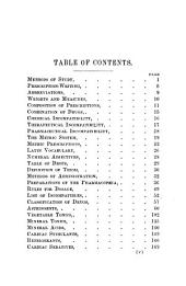 Hand-book of Materia Medica, Pharmacy and Therapeutics