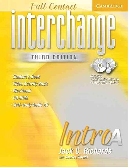 Interchange Third Edition Full Contact Intro A PDF