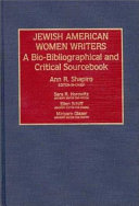 Download Jewish American Women Writers Book