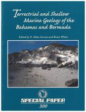 Terrestrial and shallow marine geology of the Bahamas and Bermuda