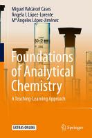 Foundations of Analytical Chemistry PDF