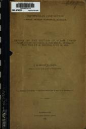 Report on the section of steam transportation in the U.S. National Museum for the year ending June 30, 1886: Issues 1-10
