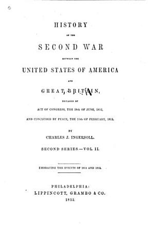 History of the Second War Between the United States of America and Great Britain PDF