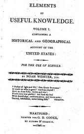 Containing a historical and geographical account of the United States