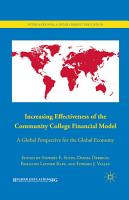 Increasing Effectiveness of the Community College Financial Model PDF