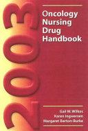 2003 Oncology Nursing Drug Handbook PDF