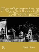 Performing Chekhov PDF