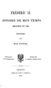Histoire de mon temps (redaction von 1746)