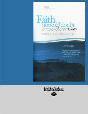 Faith  Hope and Doubt in Times of Uncertainty PDF