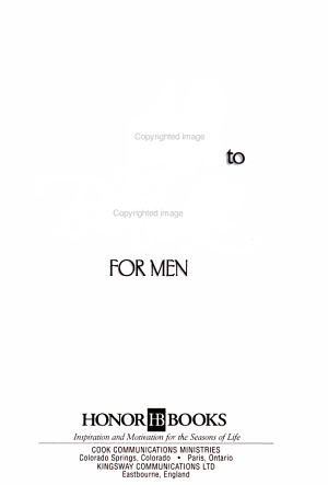 40 Days to Your Best Life for Men