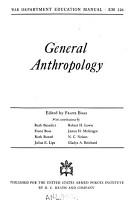 General Anthropology PDF