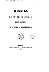 A Pío IX: canto católico